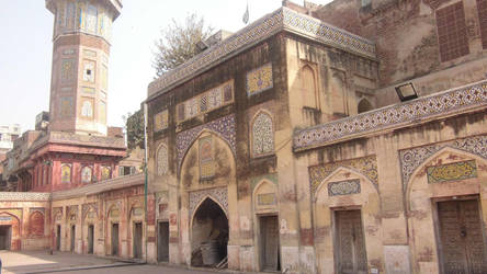 wazir khan mosque lahore by zahidnabi
