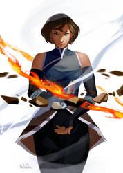 Avatar Korra by kleineHerz