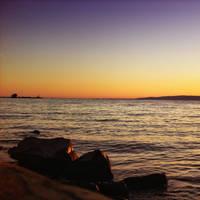 balaton sunset by stevenfields