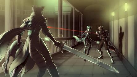 Duel by luigiix