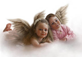Angels by ElenaSai