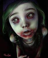zombie girl by ElenaSai