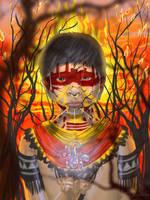 Amazonian Plight by Saher Imran by hotpinkscorpion
