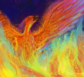 Phoenix by hotpinkscorpion