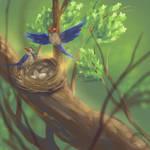 Nest by hotpinkscorpion