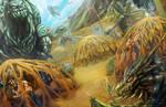 Mud Prison by hotpinkscorpion