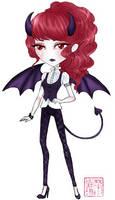 Monster High OC: Helena Desdemona by TifaTofu