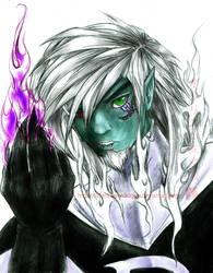Dark Danny Phantom R manga by slifertheskydragon