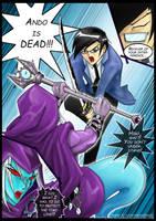 Hiro vs Clockwork by slifertheskydragon
