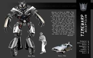 Timewarp DeLorean Transformers by slifertheskydragon