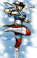 Street Fighter IV Chun Li by slifertheskydragon