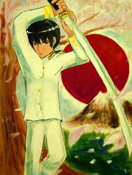 -Kiku Honda- Japan by slifertheskydragon