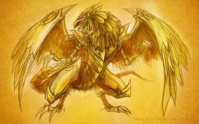 + Winged Dragon of Ra + by slifertheskydragon