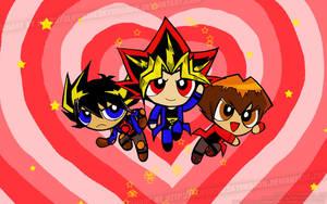 Powerpuff Yugioh Boys by slifertheskydragon