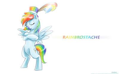 Rainbrostache by slifertheskydragon