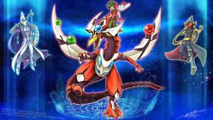 Yugioh Arc-V Pendulum Summon! by slifertheskydragon