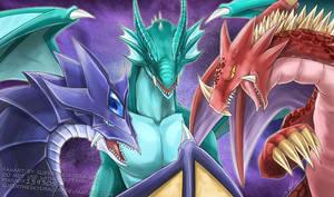 Legendary Dragons by slifertheskydragon