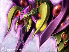 Starve Venom Fusion Dragon 1hr speedpaint by slifertheskydragon