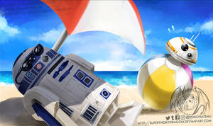 Star Wars Summer Playmat by slifertheskydragon