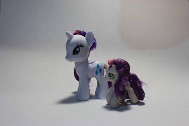 MLP snapshot: Rarity G4 and Sweetiebelle G3 by Lex-S