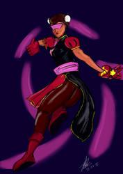Steven Universe: Garnet x Street Fighter by Lex-S