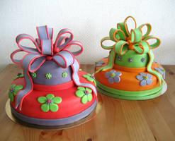 Twin Cakes by Naera