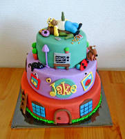 The Simpsons Cake by Naera