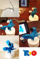 Progress pictures Blu by Naera