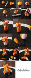 Fox step by step by Naera