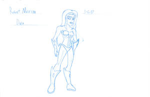 Diva Character Sketch by RobertMisirian