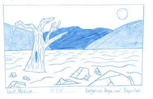Desert Background by RobertMisirian