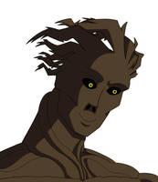 Groot Headshot by RobertMisirian