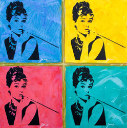 audrey_hepburn_pop_icon by jois85