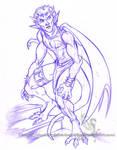 Freebie Sketch - SpawnGarg by ShadowPhoenixStudios
