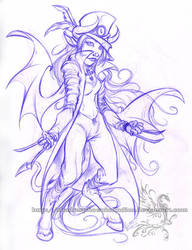 Freebie Sketch - Duld by ShadowPhoenixStudios