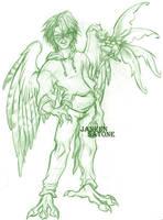 Falcon and Fairy by ShadowPhoenixStudios
