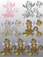 The Progress of Angel Monkey by ShadowPhoenixStudios