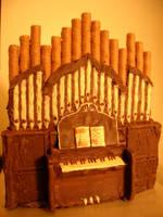 Chocolate Organ by skeebers