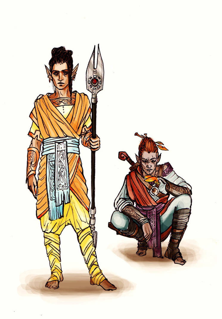 Sheva and Das by Meisiluosi
