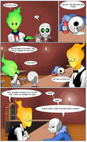 Undertale Green Page 14 by FlamingReaperComic