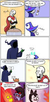 Undertale Green Chapter 3 Page 12 by FlamingReaperComic