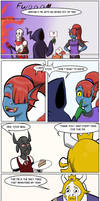 undertale green Chapter 3 Page 15 by FlamingReaperComic