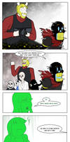 Undertale Green Chapter 5 Page 2 by FlamingReaperComic