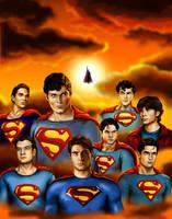 Superman by Allagea