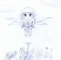 Fairy Flying by frolka