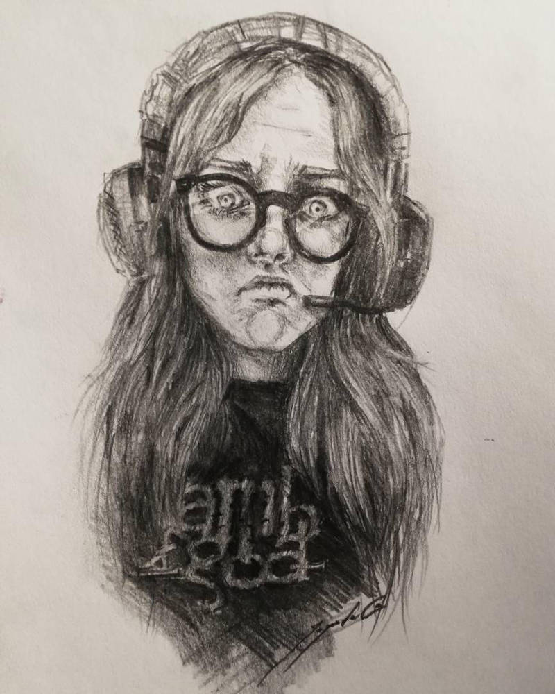 Autoportrait  by CyanBerryy