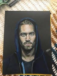 Paul Walker Portrait by ishy07m