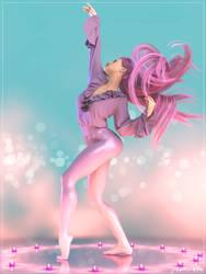 Pink Dance by jakiblue