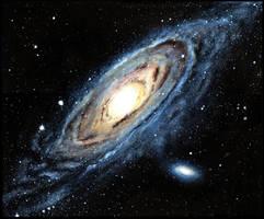 Andromeda by SpookyCasper
