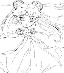 princess usagi by chaxitron